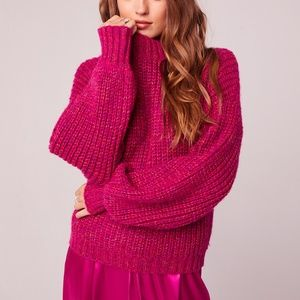 Knit Hot Pink Sweater